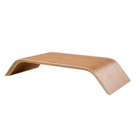 Support écran en bois