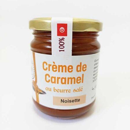 Crème de caramel au beurre salé au noisette