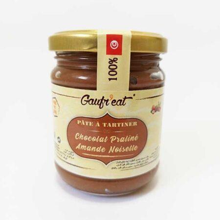 Pâte à tartiner Chocolat Praliné amande noisette
