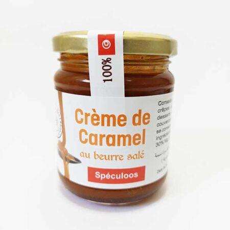Crème de caramel au beurre salé spéculoos