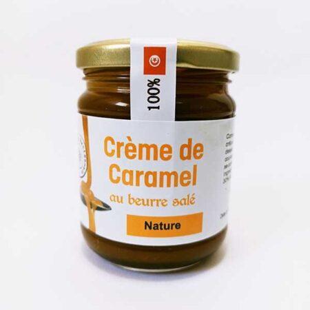 Crème de caramel au beurre salé nature