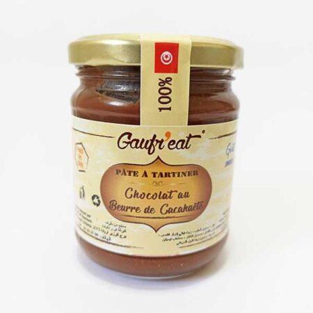 Pâte à tartiner chocolat au beurre de cacahuète (gout snikers)