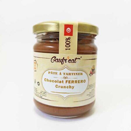 Pâte à tartiner Chocolat FERRERO Crunchy